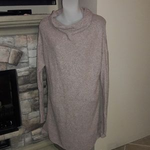 Womens sz L Old navy Tunic sweater, rose pink